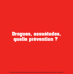 drogues, assuétudes, quelle prévention 2008_cover
