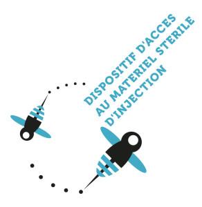 Logo DAMSI (Dispositif d'accès au matériel stéril d'injection)