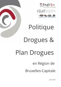 Politique drogues et plan drogues 2016-2019 cover