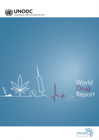 UNODC World Drug Repport 2015 - cover