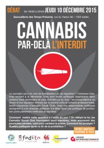 débat cannabis - 10 décembre 2015