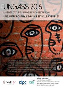 Affiche matinée UNGASS BXL - fr