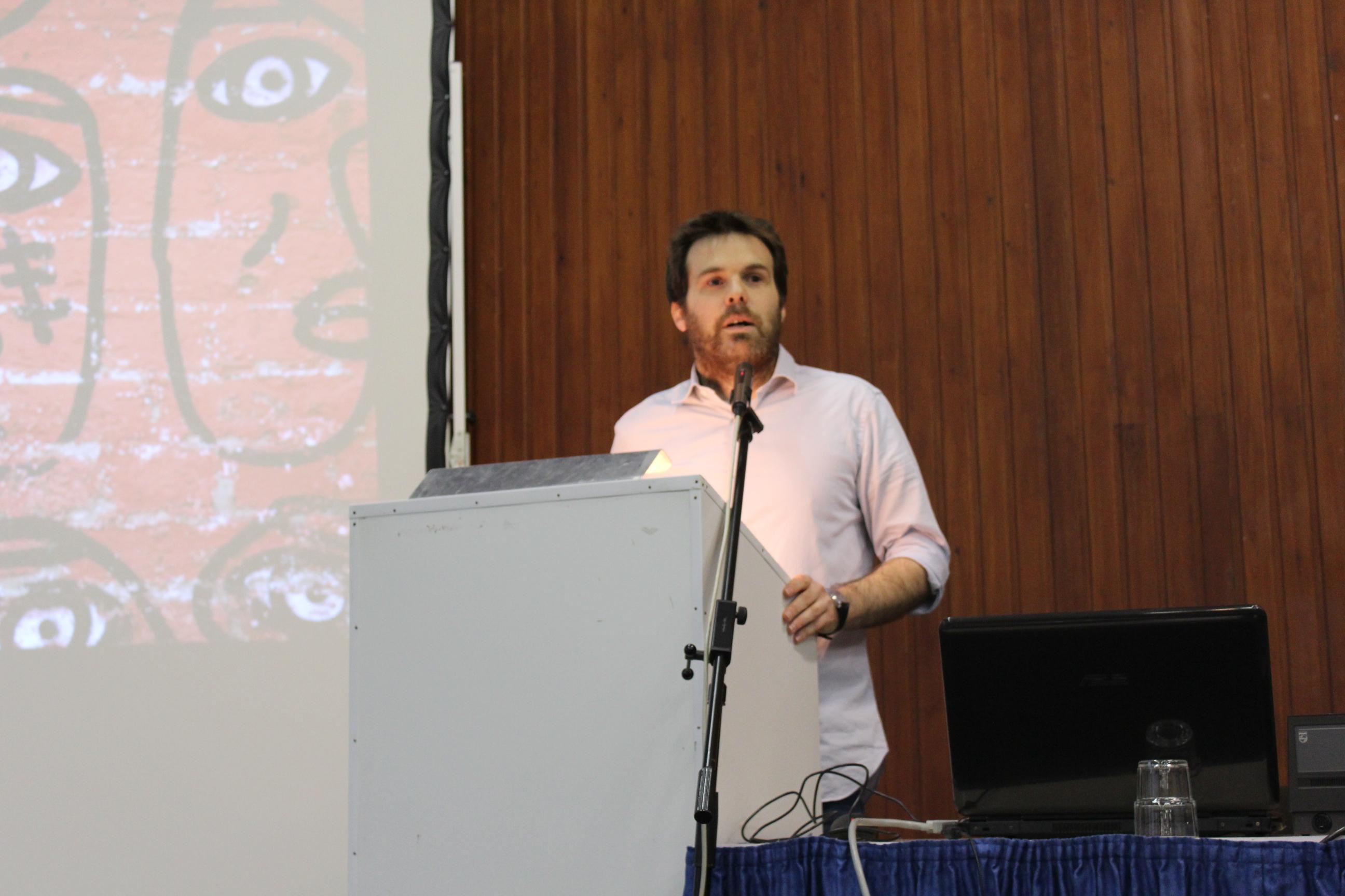 Sébastien Alexandre (FEDITO BXL) introduit la journée