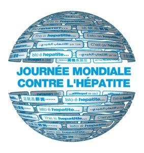 logo journée mondiale contre l'hépatite