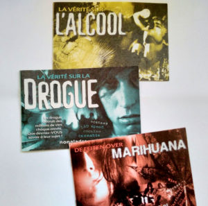 brochures drogues de l'eglise de scientologie